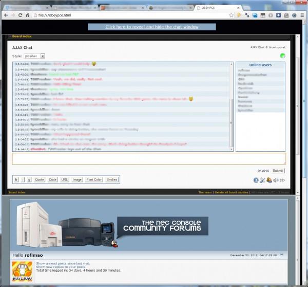 obeypce.html screenshot