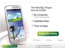 Cricket Email: Samsung Galaxy